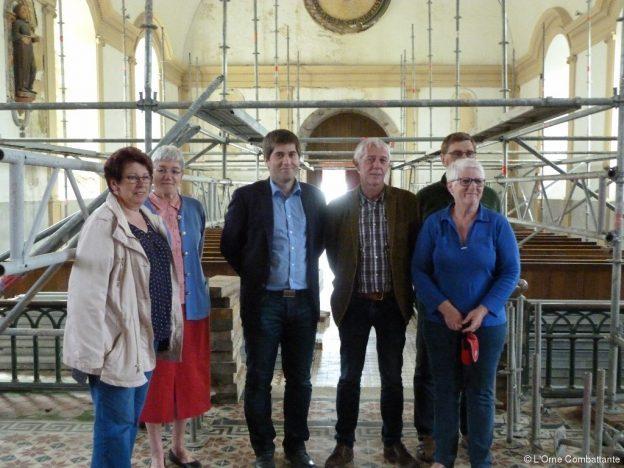 Eglise de Saint-Jean-des-Bois : la restauration a commencé
