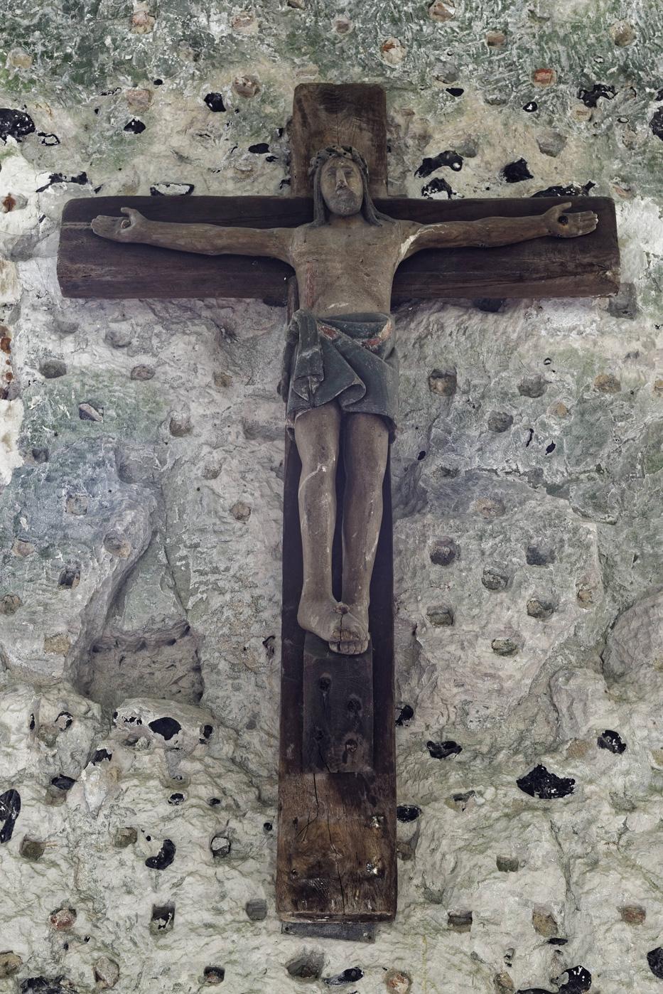 Représentation du Christ sur sa croix