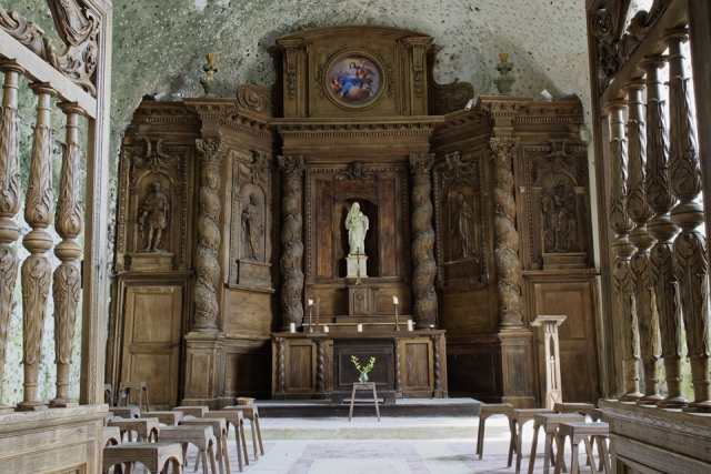 Le Retable de notre église troglodyte