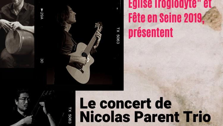 Nicolas Parent Trio en concert
